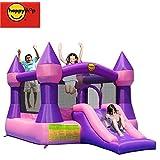 Happy Hop Castle Bouncer with Slide, Multicoloured (9017P)