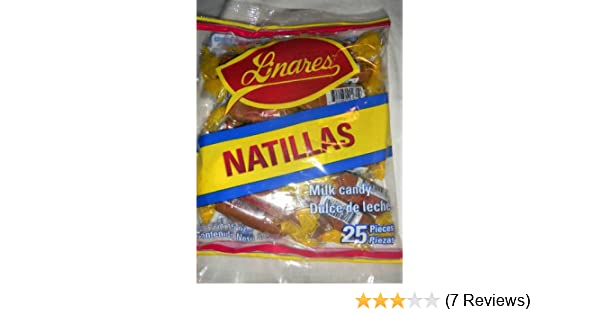 Amazon.com : 2 X Natillas Linares Goat Milk Candy Dulce De Leche Mexican Candy 50 Pcs : Caramel Candy : Grocery & Gourmet Food