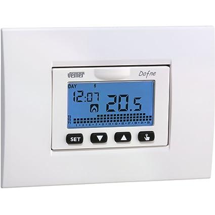 Termostato Vemer incorporado termostato electrónico VN166500 Programm .