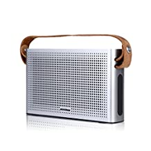 Fenleo Leather Wristbands Bluetooth Speakers 4.1 with Ultra Thin Aluminium Alloy Body