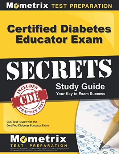 Certified Diabetes Educator Exam Secrets Study Guide: CDE Test Review for the Certified Diabetes Educator Exam (Best Wishes For Exam Images)