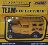 Michigan Wolverines 1992 NCAA 1/64 Diecast Model A Truck Collectible Limited Edition Football Team Car By White Rose Matchbox by NCAA