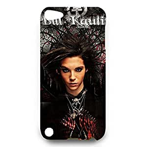 Custom Designpopular style Tokio Hotel rock brand Phone case for Ipod Touch 5th 3d hard plastic case