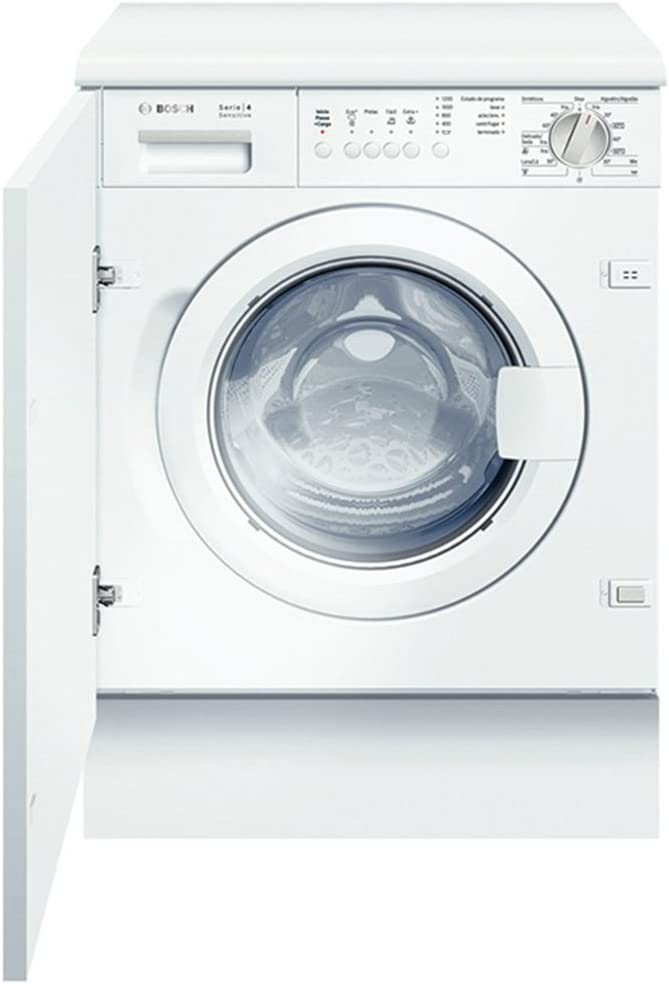 Bosch WIS24167EE - Lavadora (Integrado, Color blanco, Frente, 7 kg ...
