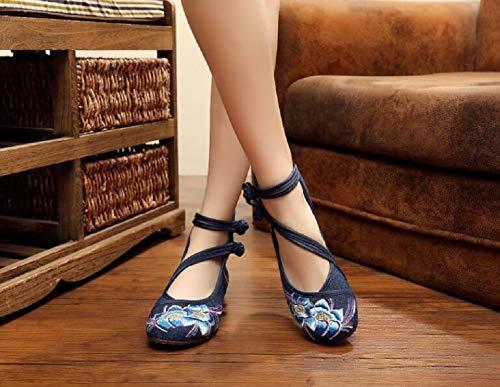 Lazutom para Lazutom Mujer para Mujer Merceditas Mujer Merceditas Azul para Lazutom Azul Merceditas Azul xYwPnzqTfx
