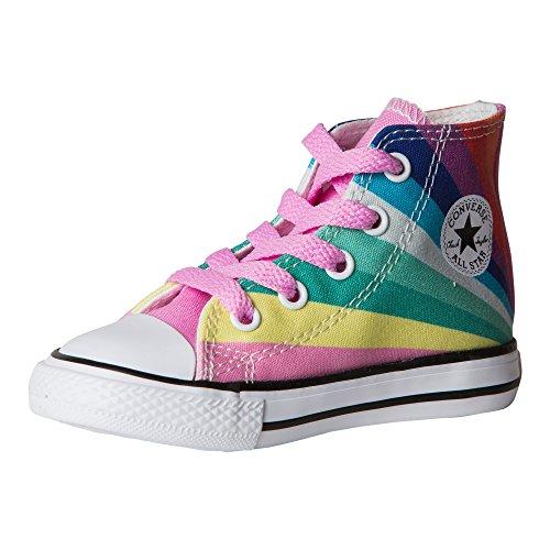 ll Star Seasonal Hi Fashion Sneaker Shoe- Chuck Taylor, Begonia Pink, 6 (M) US Infant ()