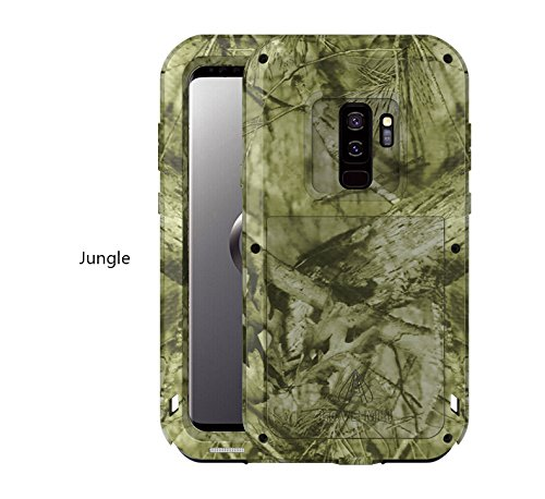 Depth Sensitive Screwdriver - Love MEI Samsung Galaxy S9 Plus Case,Galaxy S9 Plus Metal Case, CAMO SERIES Shockproof Dust/Dirt Proof Aluminum Metal Case Heavy Duty Protection Case Cover For Samsung Galaxy S9 Plus (Jungle)