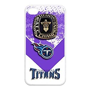 ebaykey Custombox NFL football Tennessee Titans Championship Ring iPhone 4 4s Best Durable Silicone Cover Case For Fans