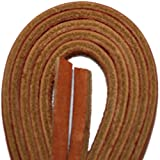 Tofl Leather Boot Laces-1 Pair Tan 72 Inches Long--easy Sizing Cut To Fit (tan) | amazon.com