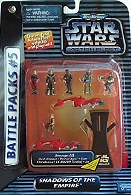 Star Wars Action Fleet / Micro Machines Battle Pack # 5 Shadow Of ...