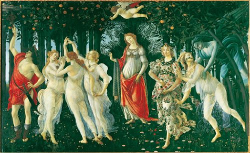 The Spring by Botticelli 1000 Piece Jigsaw Puzzle
