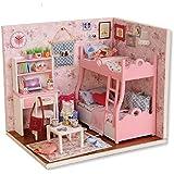 BangBang Diy Miniature Wooden Doll House Furniture Kits Handmade Craft Model Toys Gift For Children