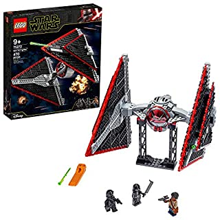 LEGO Star Wars Sith TIE Fighter 75272 Collectible Building Kit, Cool Construction Toy for Kids, New 2020 (470 Pieces)