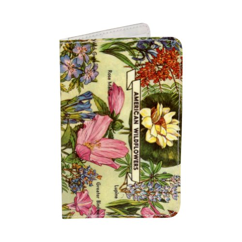 Flower Love Business Credit /& ID Card Holder Wallet by Jamila Starwater