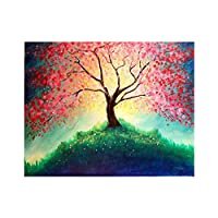 bjduck99 Unframed DIY Full Resin Tree Diamond Painting Cross Stitch Home Handicraft Decor