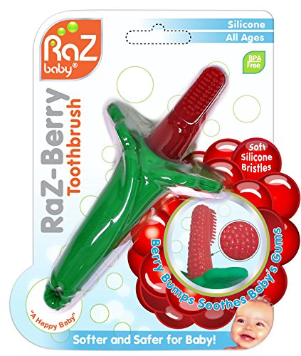 RaZ Berry Toothbrush Teether Babys Silicone product image