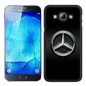 Hot Sale Galaxy A8 Case,Mercedes-Benz 6 Black Samsung Galaxy A8 Screen Phone Case Graceful and Modern Design