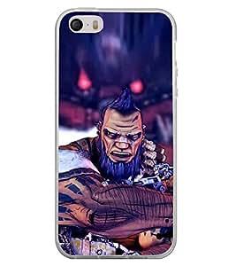 Fuson Designer Back Case Cover for Apple iPhone 4S (Spikes warrior Animated Strong Marvel)