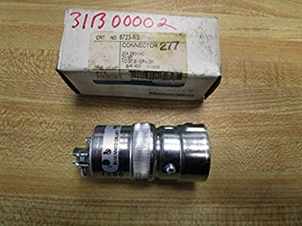 def395cad317 Thomas And Betts 8723-RS Connector: Amazon.com: Industrial & Scientific