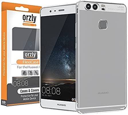 Orzly® - FlexiCase para Huawei P9 Smartphone (2016 Version: Amazon ...