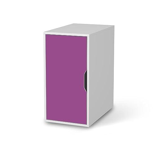 Möbelfolie Für IKEA Alex Schreibtisch Schrank | Möbeldeko Klebesticker  Tapete Folie Möbel überkleben | Wohnen
