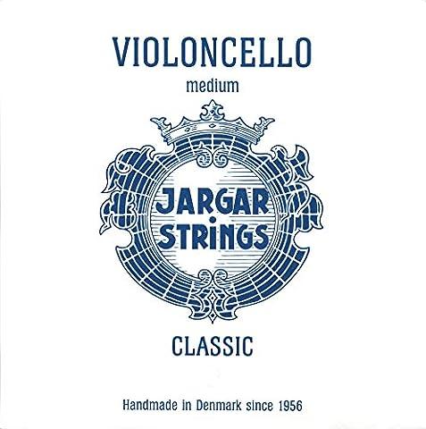 Jargar Jargar Cello G Medium Coated Steel Strings, Medium (Jargar Cello Strings Forte)
