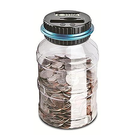 Vingtank Digital Coin Bank Savings Jar Contatore automatico della moneta Piggy Bank...