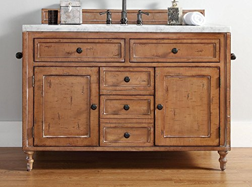 48 in. Single Vanity Cabinet in Copper Cover Finish from James Martin Furniture
