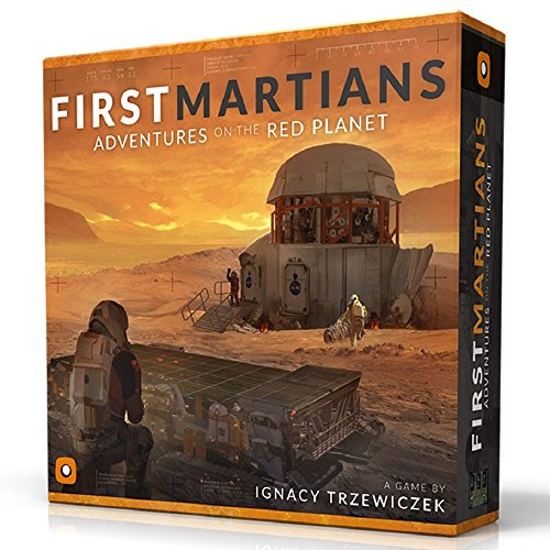 Portal Games First Martians Board Games (Board Games Ages 10+)