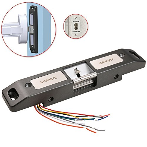 Door Exit Devices - UHPPOTE Electric Strike Lock For Push Panic Bar Exit Device Emergency Door