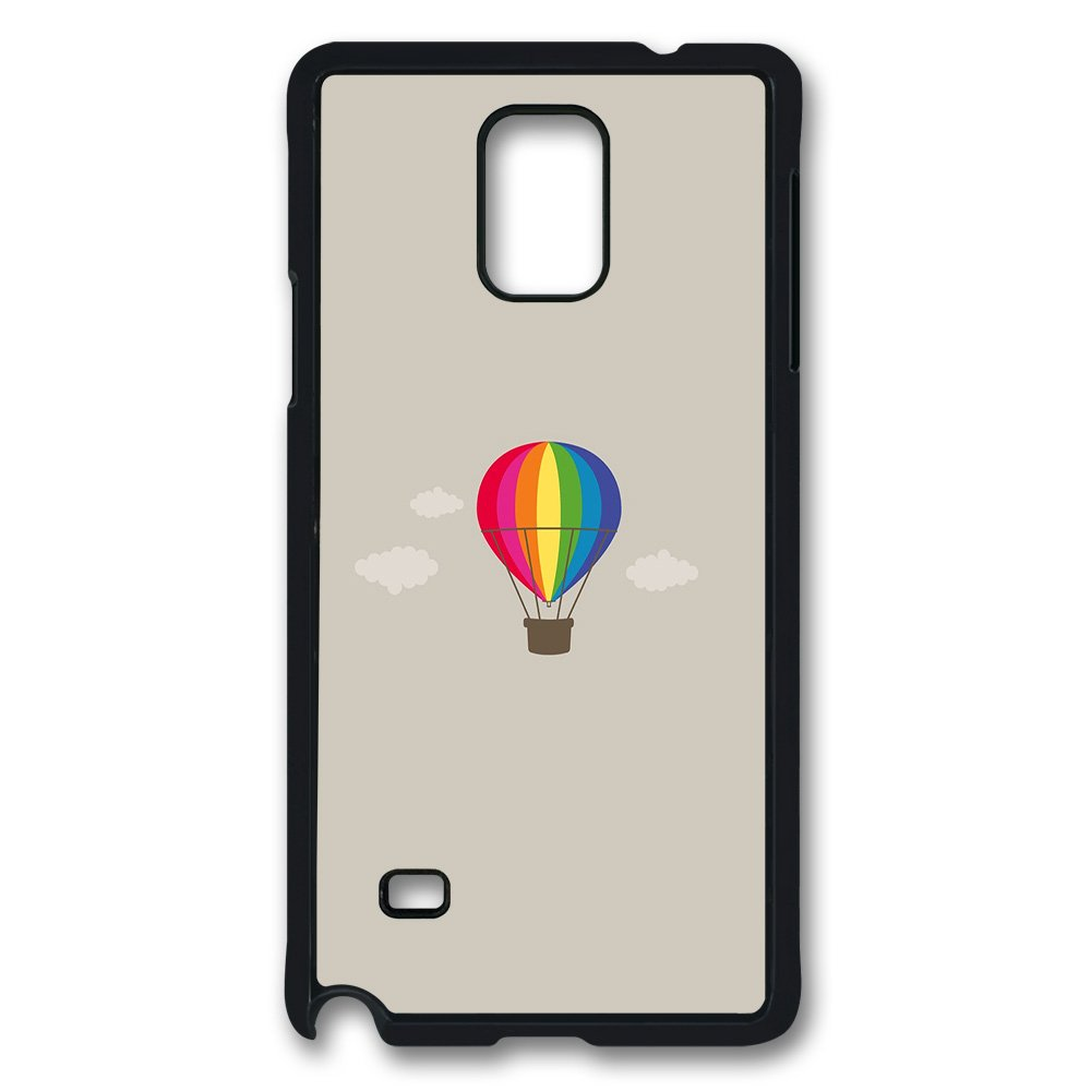 Sun Vigor Samsung Galaxy Note 4 Case Semplice Pure Mongolfiera