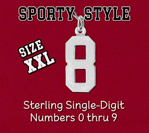 (Your Choice Single 1 Digit Number XXL Size