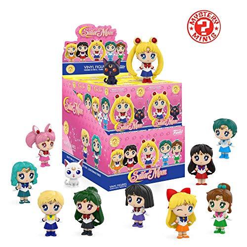 Funko Mystery Mini - Sailor Moon - Display Box of 12 Figures ()