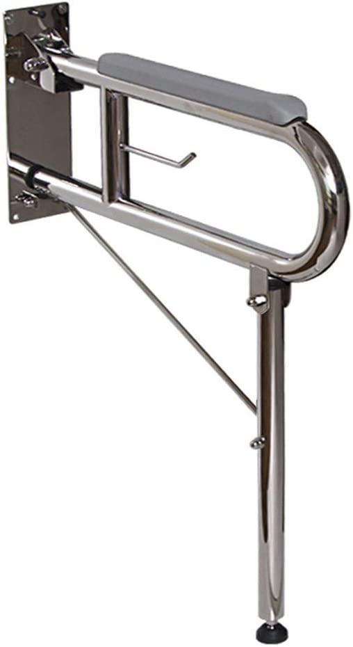 FSS Shower Grab Bars Stainless Steel U Type Fold Armrest Old Man Disabled Handrail Barrier-Free Bathroom Handrail