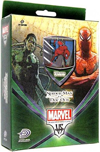 Amazon Com Marvel Vs System Trading Card Game Spider Man Vs Doc