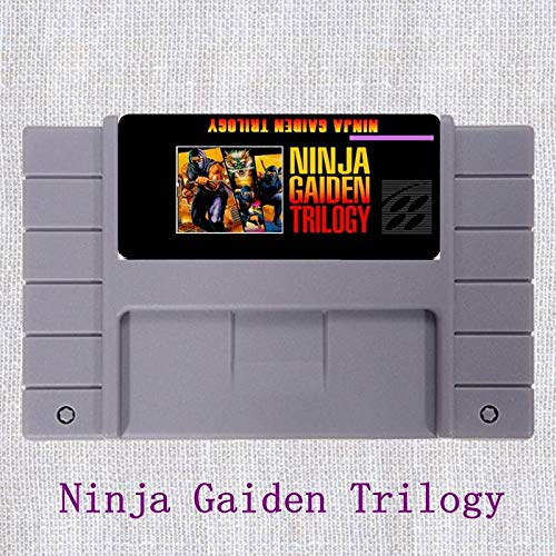 Ninja Gaiden Trilogy 16 Bit NTSC Big Gray Game Card For USA Version Game Player - Game Card For Sega Mega Drive For Genesis