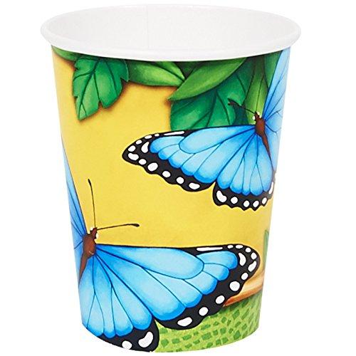 Jungle Party Supplies - 9 oz. Paper Cups (8)