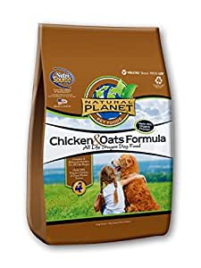 TUFFY'S PET FOOD 131575 Tuffy Natural Planet Organics Chicken and Oats Food for Dogs, 25-Pound