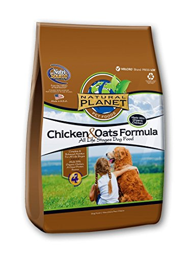 Natural Planet Organics Chicken & Oats Adult Dog Dry Food