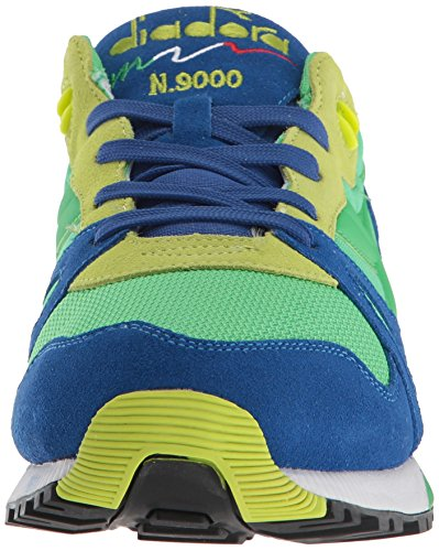 Diadora N9000 Men Round Toe Synthetic Blue Sneakers