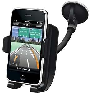 Kensington K66626EU - Base de coche y amplificador de sonido para iPhone, color negro
