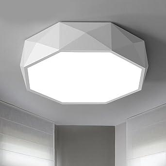 Aoligei Geometrische LED-Deckenleuchte Moderne Wohnzimmerlampe ...