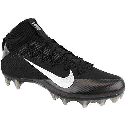 NIKE Men's Vapor Untouchable 2 Football Cleat Black/Anthracite/Metallic Silver