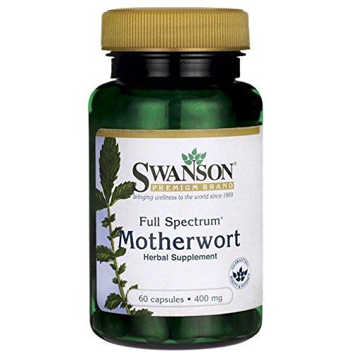 Swanson Full Spectrum Motherwort 400 Milligrams 60 Capsules