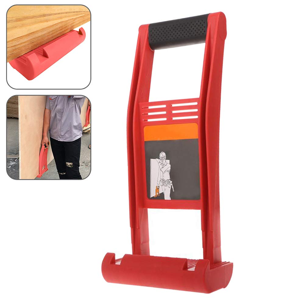 Drywall Carrier,Plywood Panel Carrier 80KG Load Lift and Carry Panel Mover for Lifting up Glass Board Plasterboard Wood