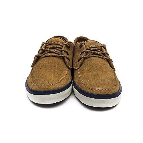 Brown zapatilla 6 SEVRIN de deportiva Lacoste hombre piel 8Paqwx