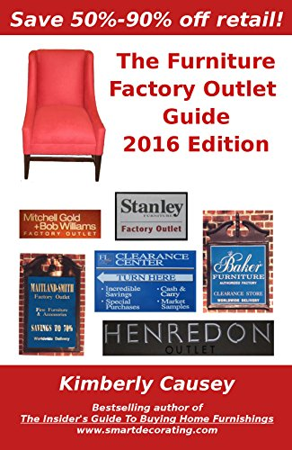 The Furniture Factory Outlet Guide, 2016 - Outlet North