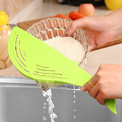 Cute Creative Whale Shaped Colander Strainer Water Filter Frame Kitchen Cooking Tool - Spider Mixer Bottle