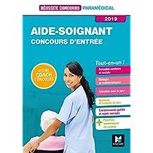 Réussite Concours Aide-soignant - AS - Entrée en IFAS 2019 - Préparation Complète - Epub (French Edition)