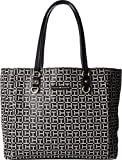 Tommy Hilfiger Women's Kelby Tote Black/White One Size